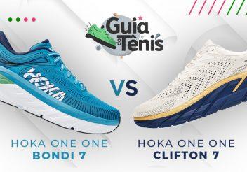 Hoka One One Bondi 7 x Hoke One One Clifton 7
