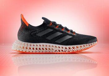 Adidas anuncia o 4DFWD, lançamento com entressola 3D