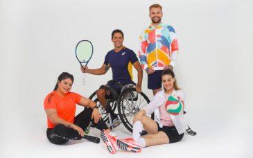 Asics patrocínio atletas paralímpicos