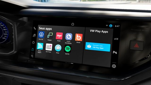 VW Play: uma nova era em conectividade, streaming e serviços dentro do seu veículo!