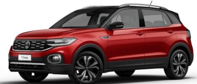 Volkswagen T-Cross 2022 estreia novidades pontuais