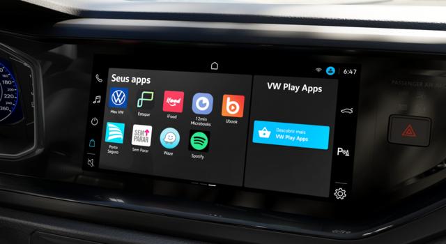 VW Play chega aos modelos Polo e Virtus 2022