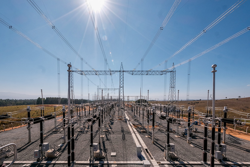 Imagens   Interligação Elétrica   Subestação Lorena