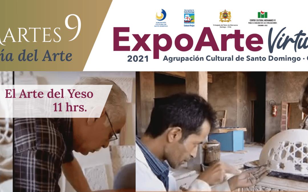 """ARTE: """"El Arte del Yeso"""" – Martes 9 de Febrero 11:00Hrs"""