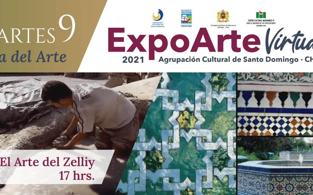 """ARTE: """"El Arte del Zelliy"""" – Martes 9 de Febrero 17:00Hrs."""