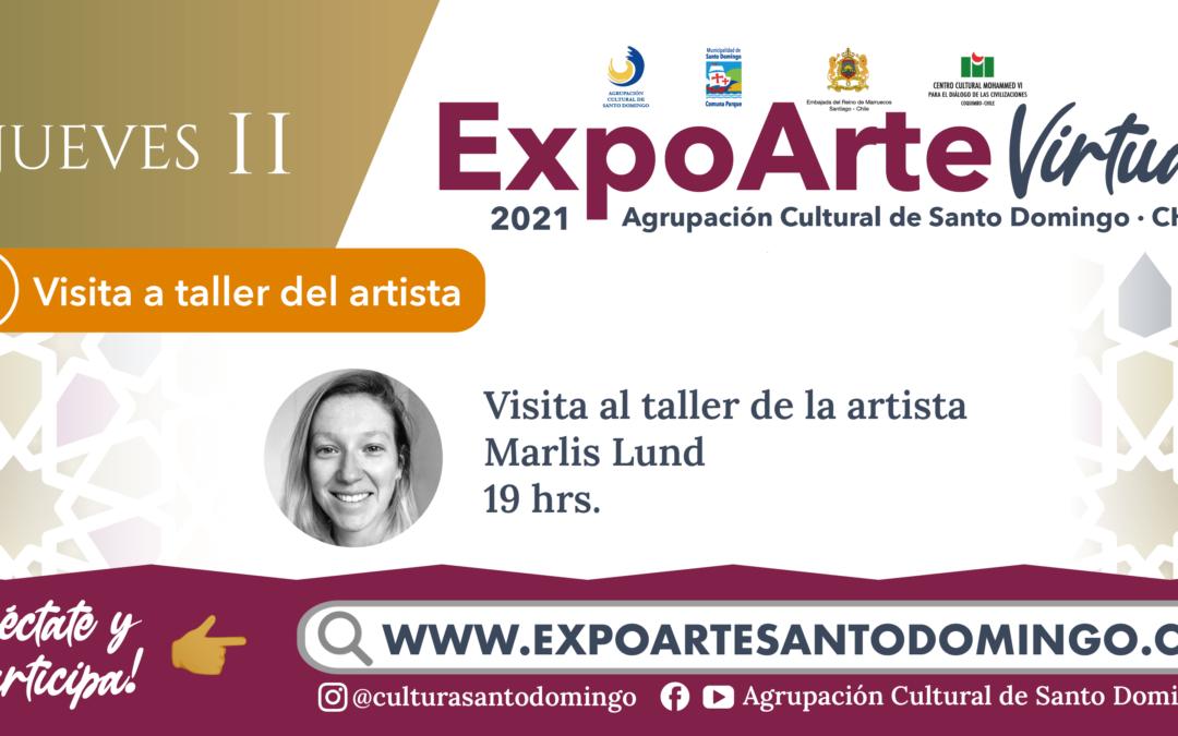 VISITA TALLER DE ARTISTA: Visita a Taller de Marlis Lund – Jueves 11 de Febrero 19:00Hrs.