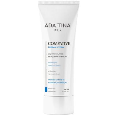 Imagem 1 do produto Compative Thermal Lotion Ada Tina - Tônico Facial Termal e Demaquilante - 200ml