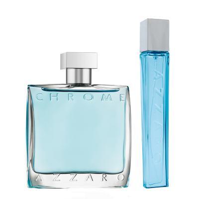 Imagem 1 do produto Azzaro Chrome Azzaro - Masculino - Eau de Toilette - Perfume + Miniatura - Kit