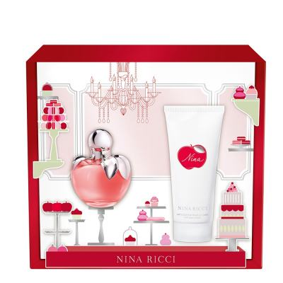 Imagem 1 do produto Nina Nina Ricci - Feminino - Eau de Toilette - Perfume + Loção Corporal - Kit