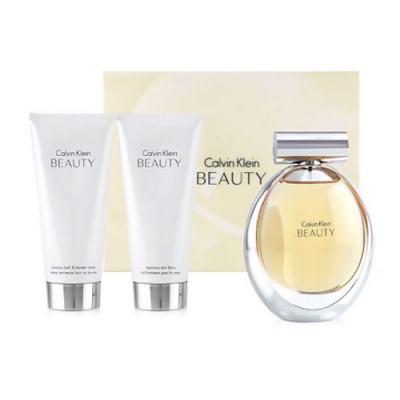 Imagem 1 do produto Beauty Calvin Klein - Feminino - Eau de Parfum - Perfume + Loção Perfumada + Gel de Banho - Kit