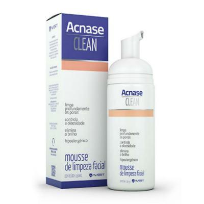 Imagem 3 do produto Kit Acnase Sabonete Antiacne 110g + Mousse de Limpeza Facial Clean 150ml - Sabonete Acnase 110g + Acnase Clean Mousse 150ml