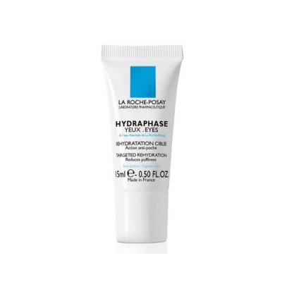 Hydraphase Yeux La Roche Posay - Tratamento Rehidratante Antibolsas para a Área dos Olhos - 15ml