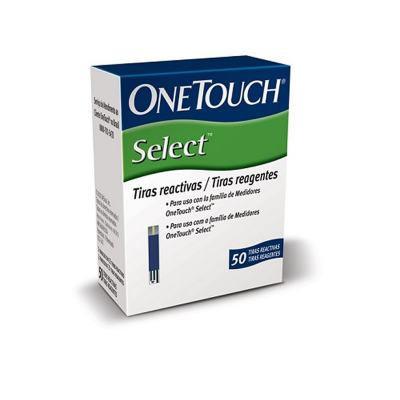 Tira Reagente One Touch Select