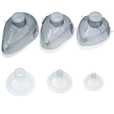 Imagem 1 do produto Máscara para Reanimador Manual Tipo Ambu de Silicone - MASCARA AMBU Nº 03 MD