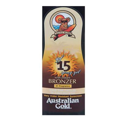 Imagem 2 do produto Spray Bronzeador Australian Gold Spray Gel Instant Bronzer SPF 15 - 125ml