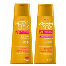 Skafe Keramax Hidratação Profunda Kit - Shampoo + Condicionador - Kit