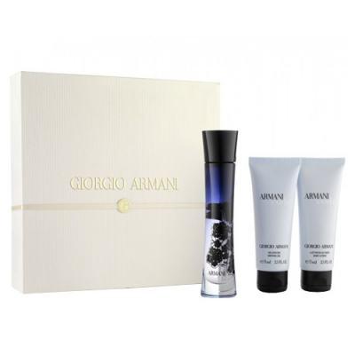 Armani Code Donna Giorgio Armani - Feminino - Eau de Toilette - Perfume + Loção Perfumada + Gel de Banho - Kit