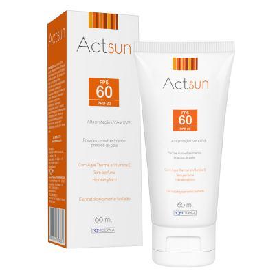 Protetor Solar Facial Fps60 Actsun - Protetor Solar - 60ml