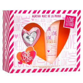 Love Love Love Agatha Ruiz de La Prada Feminino Eau de Toilette - Perfume + Gel de Banho - Kit