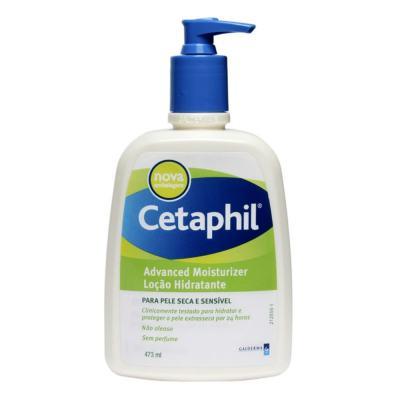 Imagem 2 do produto Kit Cetaphil Loção Hidratante Advanced Moisturizer Pump 473ml + Protetor Solar Daylong Lipossomal Sensitive FPS 30 100ml
