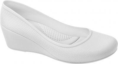 Sapato Profissional Feminino Caren Branco Boa Onda - 35