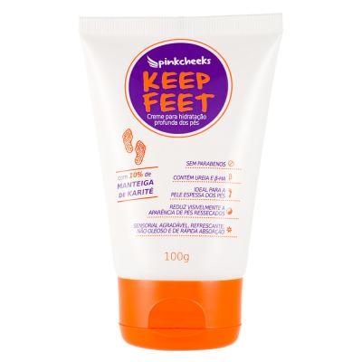 Creme para os Pés Pink Cheeks Keep Feet - 100g