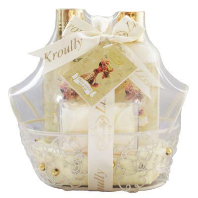 Imagem 1 do produto Skin Juice Baunilha Robyem -  Sabonete Liquido + Loção Hidratante + Pétala de Banho - Kit