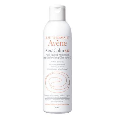 Imagem 1 do produto Óleo de Limpeza Relipidante XeraCalm A.D Avène -  Limpeza Facial para Pele Seca - 100ml