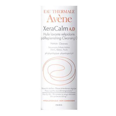Imagem 2 do produto Óleo de Limpeza Relipidante XeraCalm A.D Avène -  Limpeza Facial para Pele Seca - 100ml