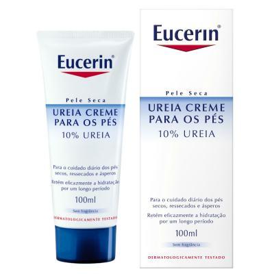 Creme Para Pés Eucerin 10% Ureia 100ml