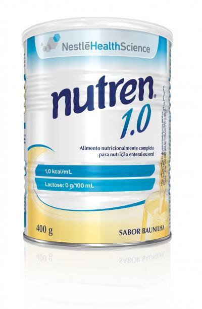 Imagem 1 do produto Suplemento Alimentar Nestlé Nutren 1.0 Baunilha 400g