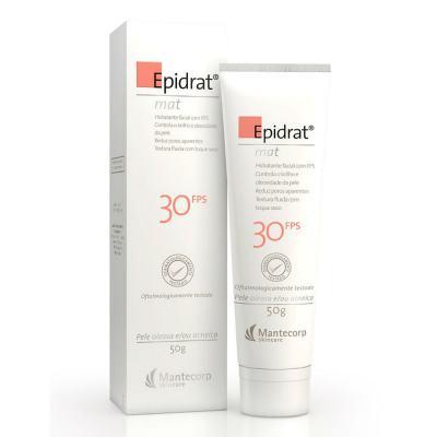 Hidratante Facial Epidrat Mat FPS 30 Mantecorp Skincare 50g