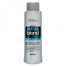 Forever Liss Mega Blond Black - Máscara Matizadora - 500ml