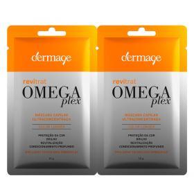 Dermage Revitrat Omegaplex Mask Máscara de Tratamento - 2 Unidades
