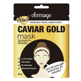 Máscara Facial Hidratante Dermage Caviar Gold Mask - 10g