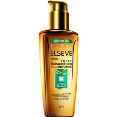 Imagem 3 do produto Kit Tratamento + Prancha Look Taiff L'Oréal Paris Elseve Óleo Extraordinário Disciplinante - Kit