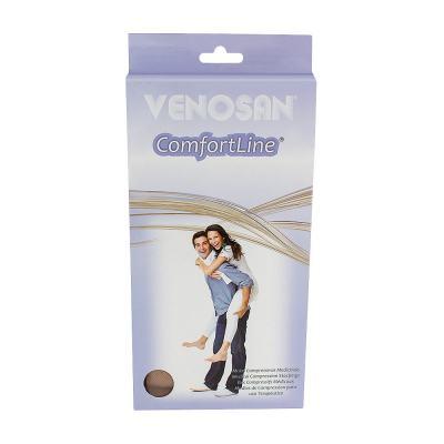 Imagem 1 do produto Meia Panturrilha AD 30-40 Comfortline Venosan - PONTEIRA ABERTA LONGA BEGE P