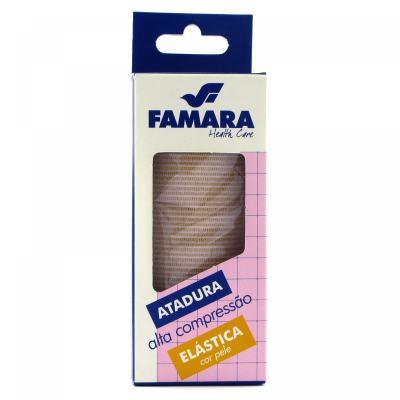 Imagem 1 do produto Atadura Elástica Media Compressão Famara - 15CM X 1,30M