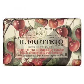 IL Frutteto Amarena e Frutas Vermelhas Nesti Dante - Sabonete Antioxidante - 250g