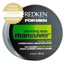 Redken For Men Maneuver  - Cera Modeladora - 100ml