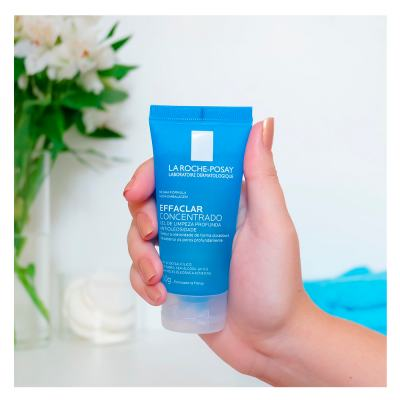 Imagem 3 do produto Gel de Limpeza Facial La Roche Posay - Effaclar Concentrado - 60g