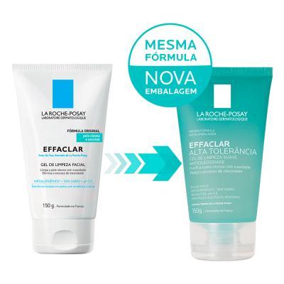 Imagem 2 do produto Gel de Limpeza Facial La Roche Posay - Effaclar Alta Tolerância - 150g