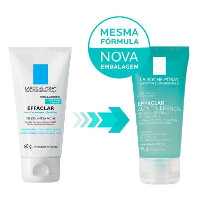 Imagem 2 do produto Gel de Limpeza Facial La Roche Posay - Effaclar Alta Tolerância - 60g