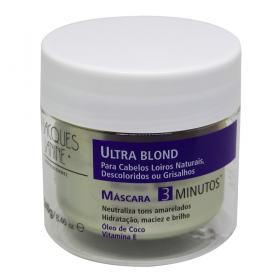 Jacques Janine Ultra Blond - Máscara Matizadora - 240ml