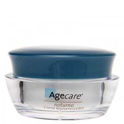 Creme Facial Noturno Agecare - Creme Rejuvenescedor - 45g
