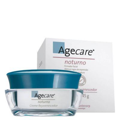 Imagem 2 do produto Creme Facial Noturno Agecare - Creme Rejuvenescedor - 45g