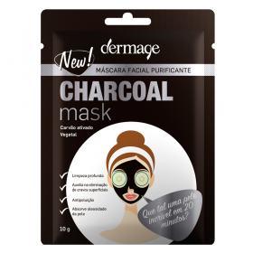 Máscara Facial Dermage - Charcoal Mask - 10g