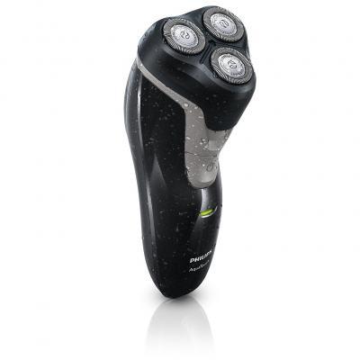 Imagem 2 do produto Barbeador Elétrico Philips AquaTouch AT612 Wet & Dry 3 Cabeças