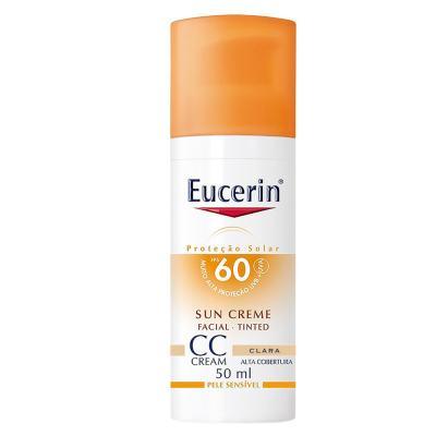 CC Cream Sun Creme Tinted FPS60 Eucerin - Protetor Solar - Clara