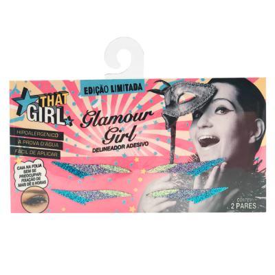 Delineador Adesivo Glamour Girl - That Girl - Kit